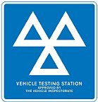 Department for Transport MOT Station Logo.